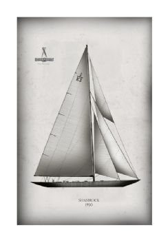 America's Cup Yacht 1930 Shamrock